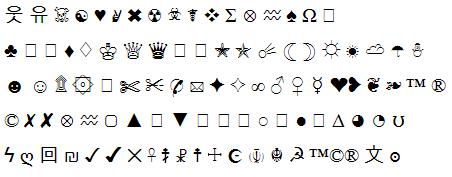 Как сделать красивые буквы для ников в аватарии 40