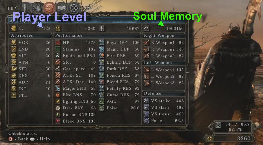 Эффекты статус в dark souls