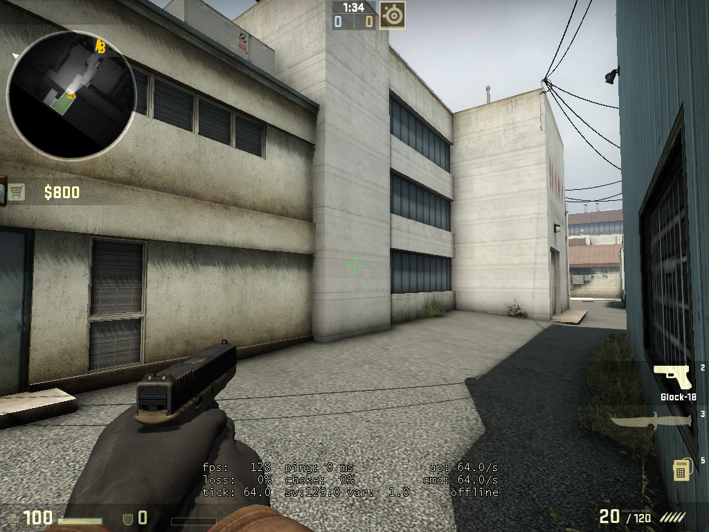 Cs go matchmaking max ping command