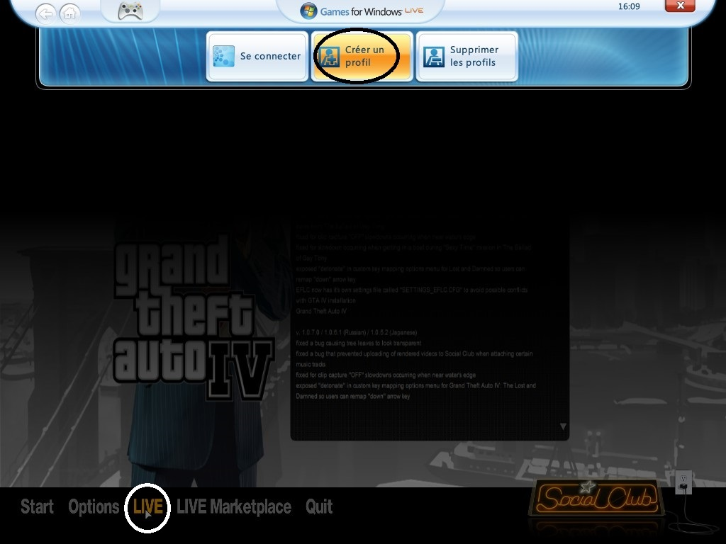 games for windows live update gta 4
