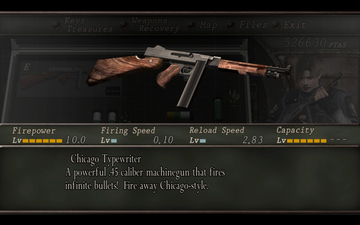 Resident evil 4 (xbox 360): unlockable special weapons. Youtube.