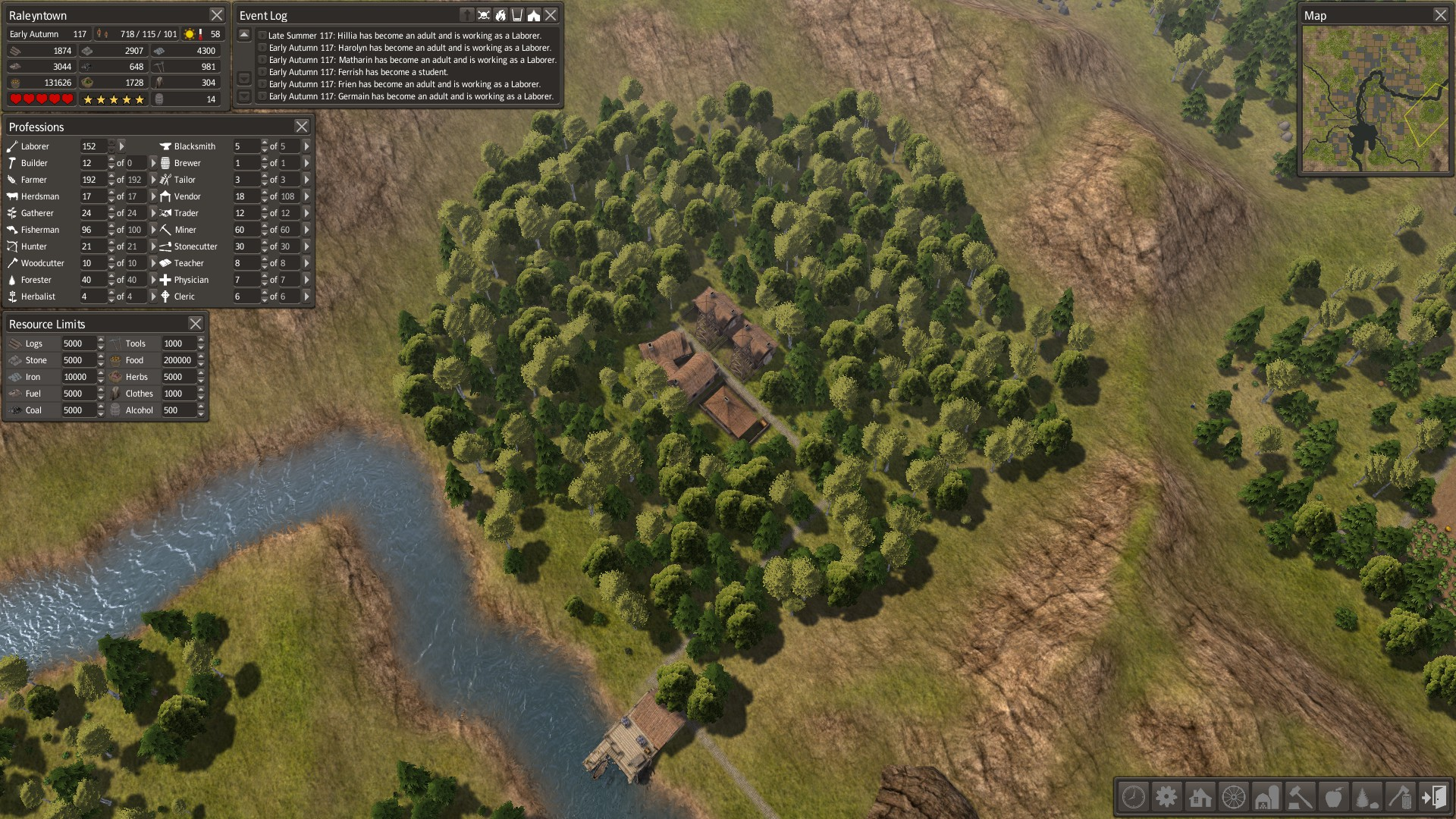 Watch How to Survive in Banished video