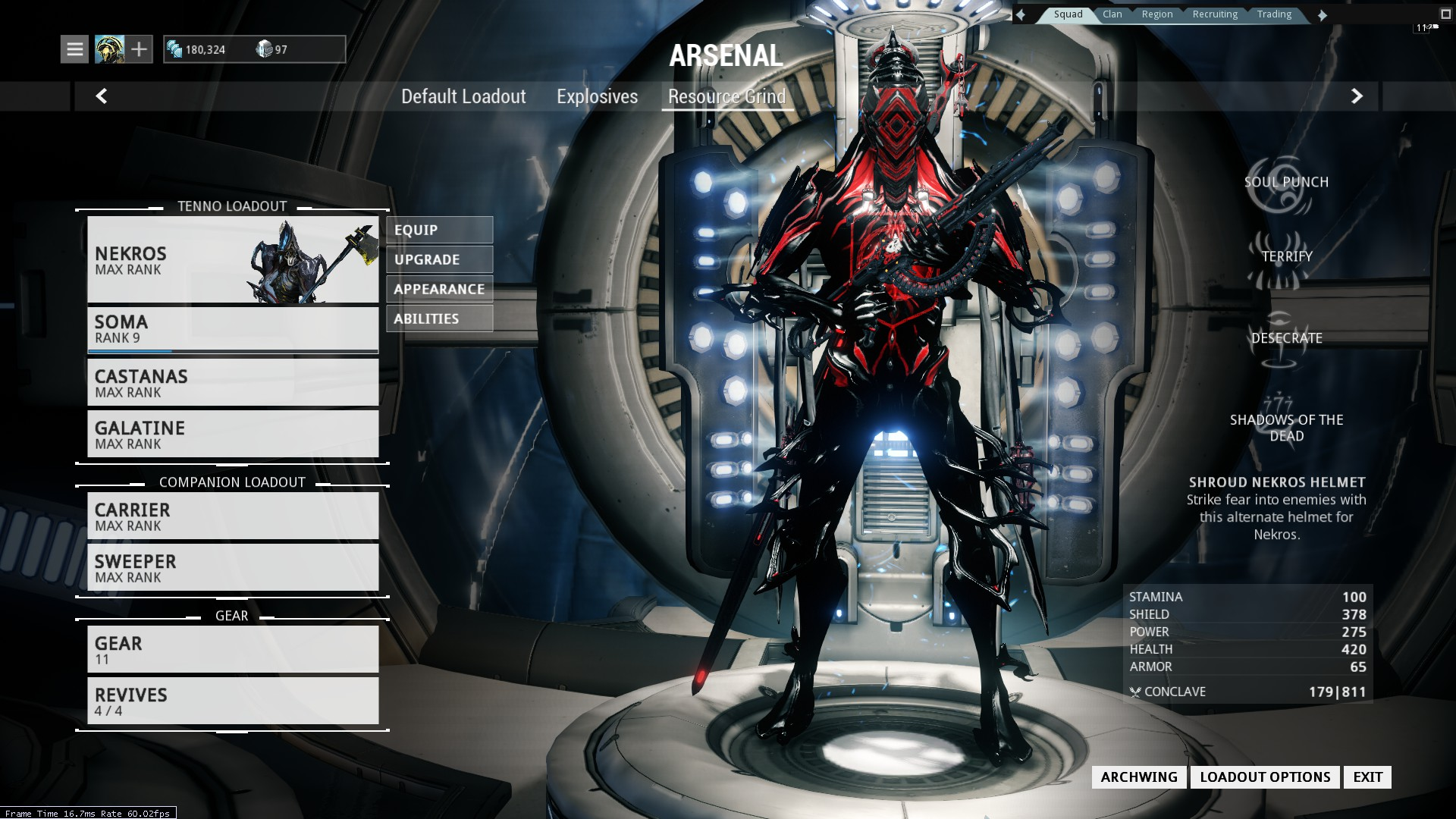 Steam Community Guide Discontinued Updated For U18 12 Warframe Prime Weapon Resource And Archwing Drop Tables I think you may have overlooked that information. u18 12 warframe prime weapon resource