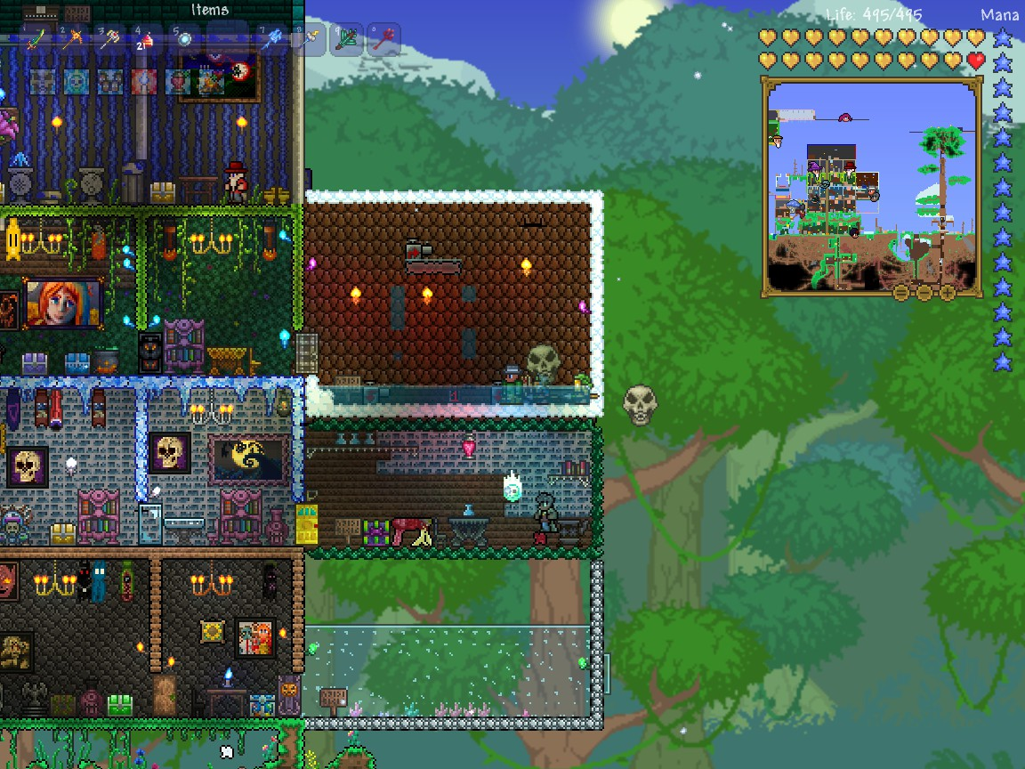 Steam Community Guide Diamonds To Not Being Bored In Wiring Pump Terraria Nothing So Make Sure A Drain For The Water Go Through But Leave Some Left Boom Your Own Shower I Onced Flooded My House