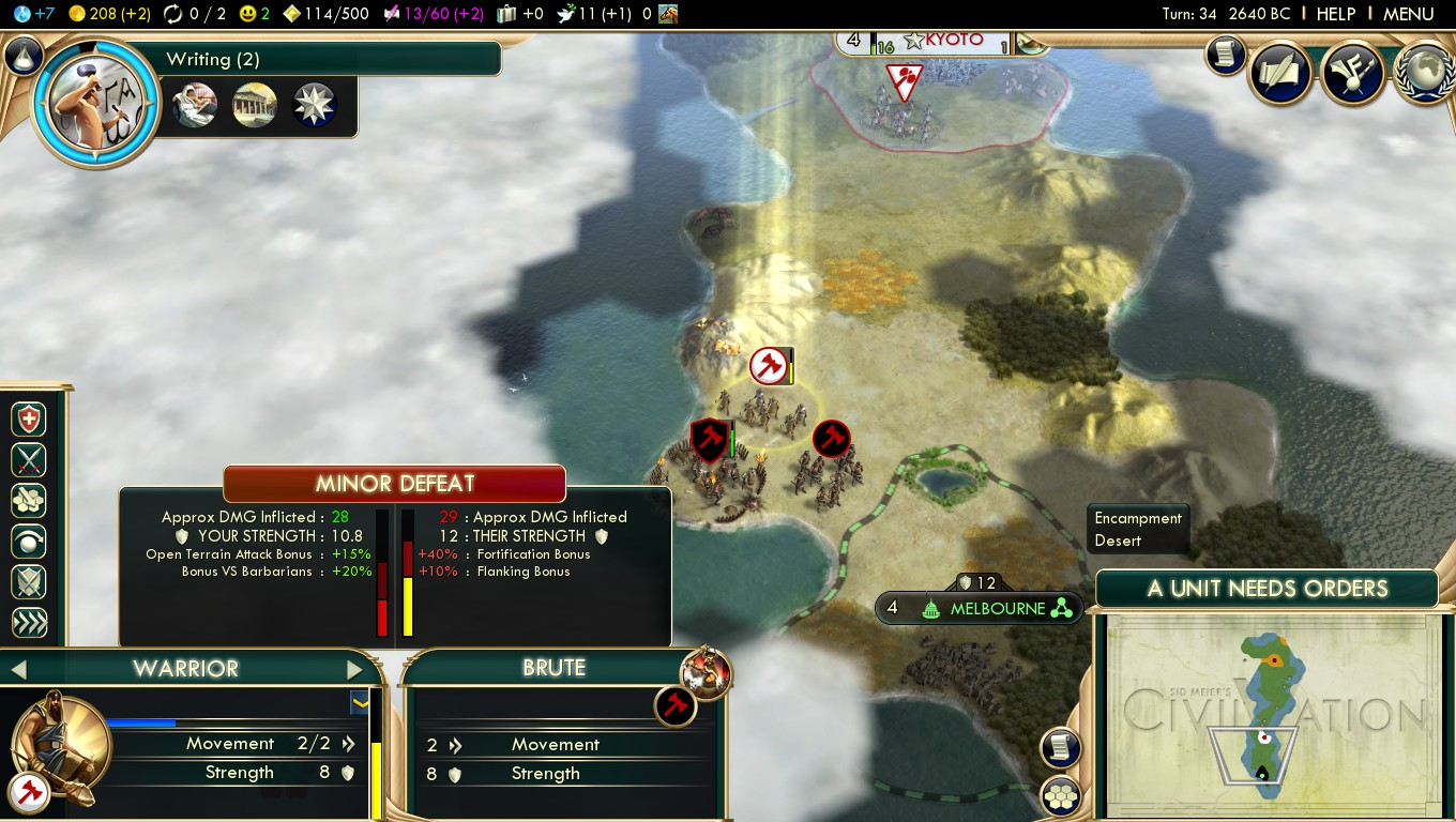 Avoid domination victory think