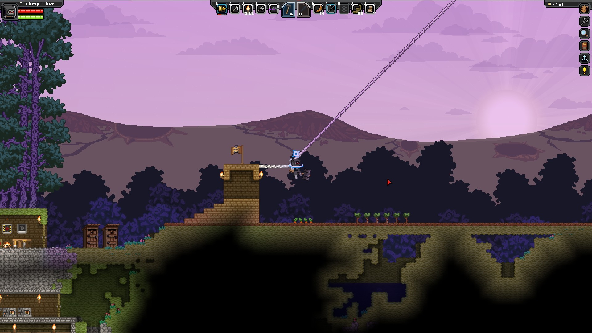 Steam Fllesskab Guide Starbound Universe Mechanics Venraged Wiring Station In Here Is A Structure Found An Asteroid Belt Got Nice Handgun Out Of The Cabinet