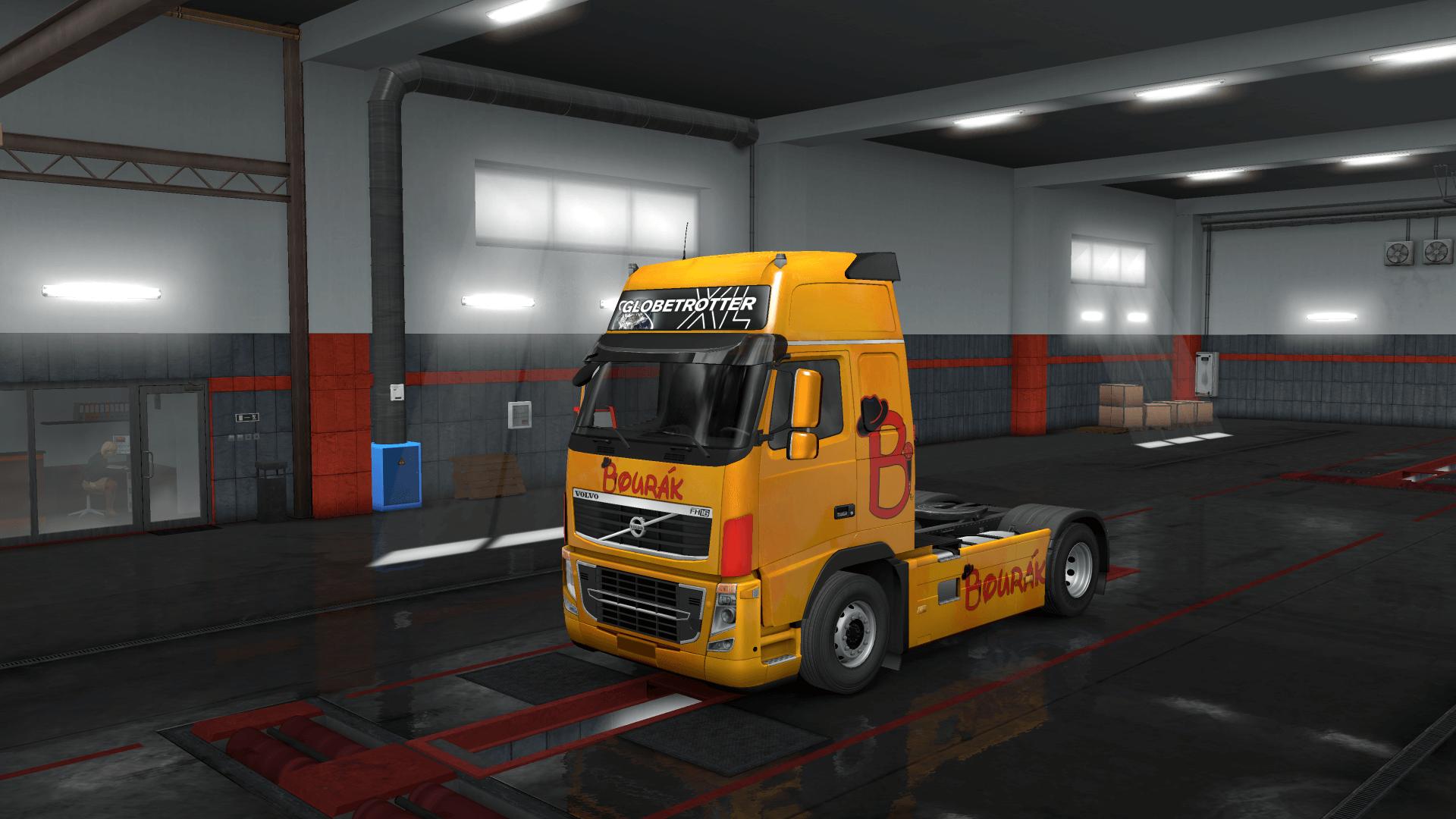 Bourkákkkk Trucks Skin Pack