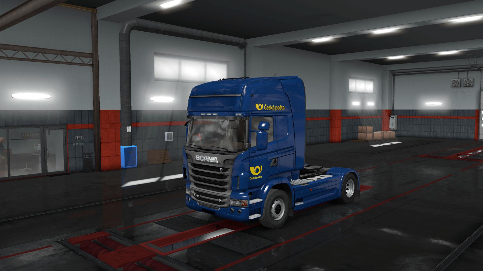 Truck Skin Česká pošta