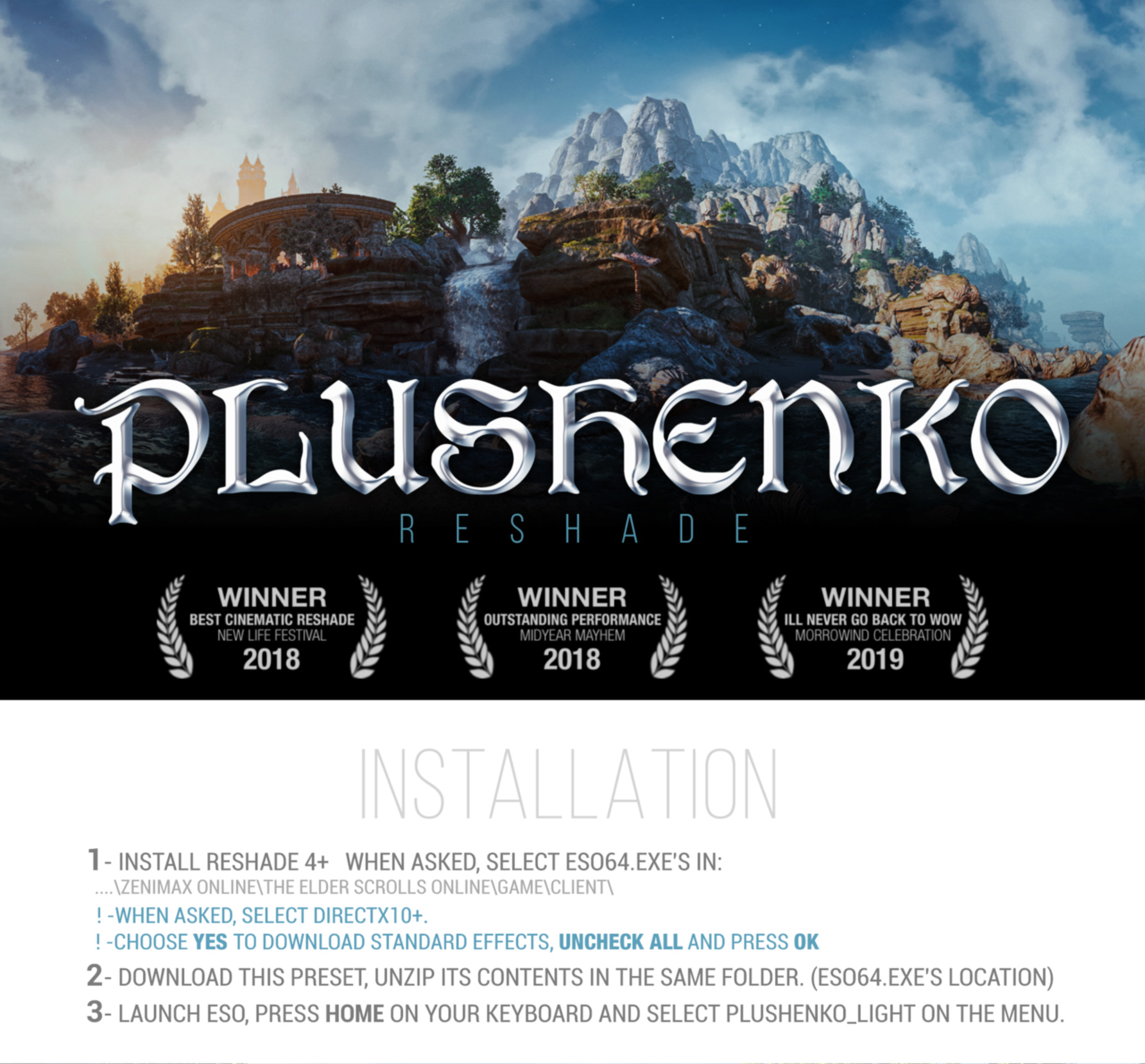 Steam Community :: Guide :: Plushenko ENB Reshade - Best