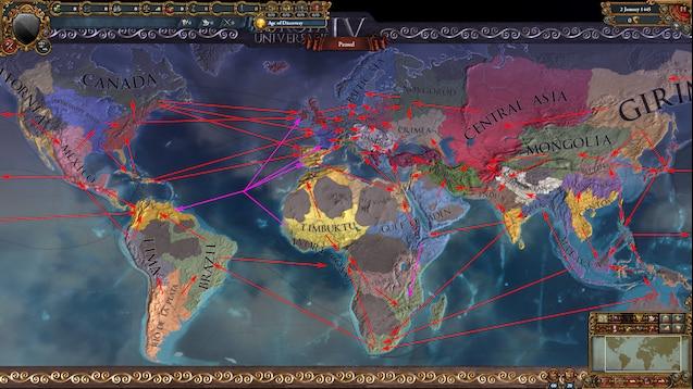 Eu4 Trade Map