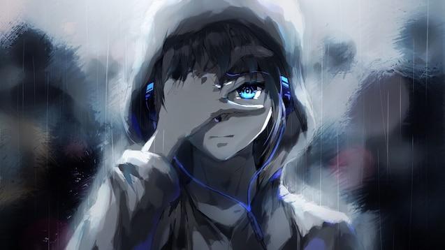 Steam Workshop Boy In The Rain Anime Wallpaper By 鳥澤