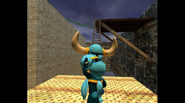 Steam Workshop :: Gmod - Shovel Knight Player Model(SSBU