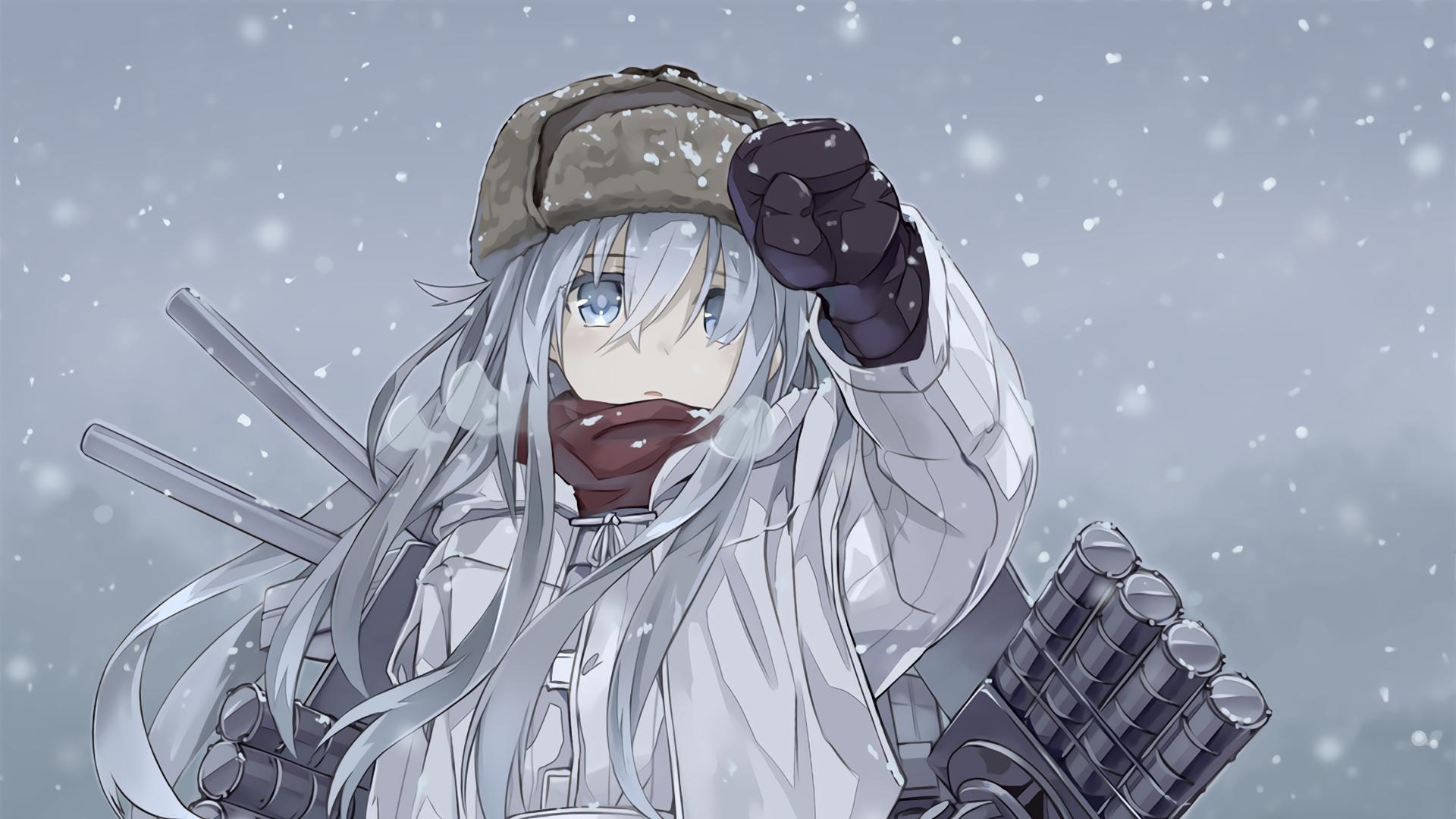 Steam Workshop 艦これ Vernyj Wallpaper In Snow Kancolle