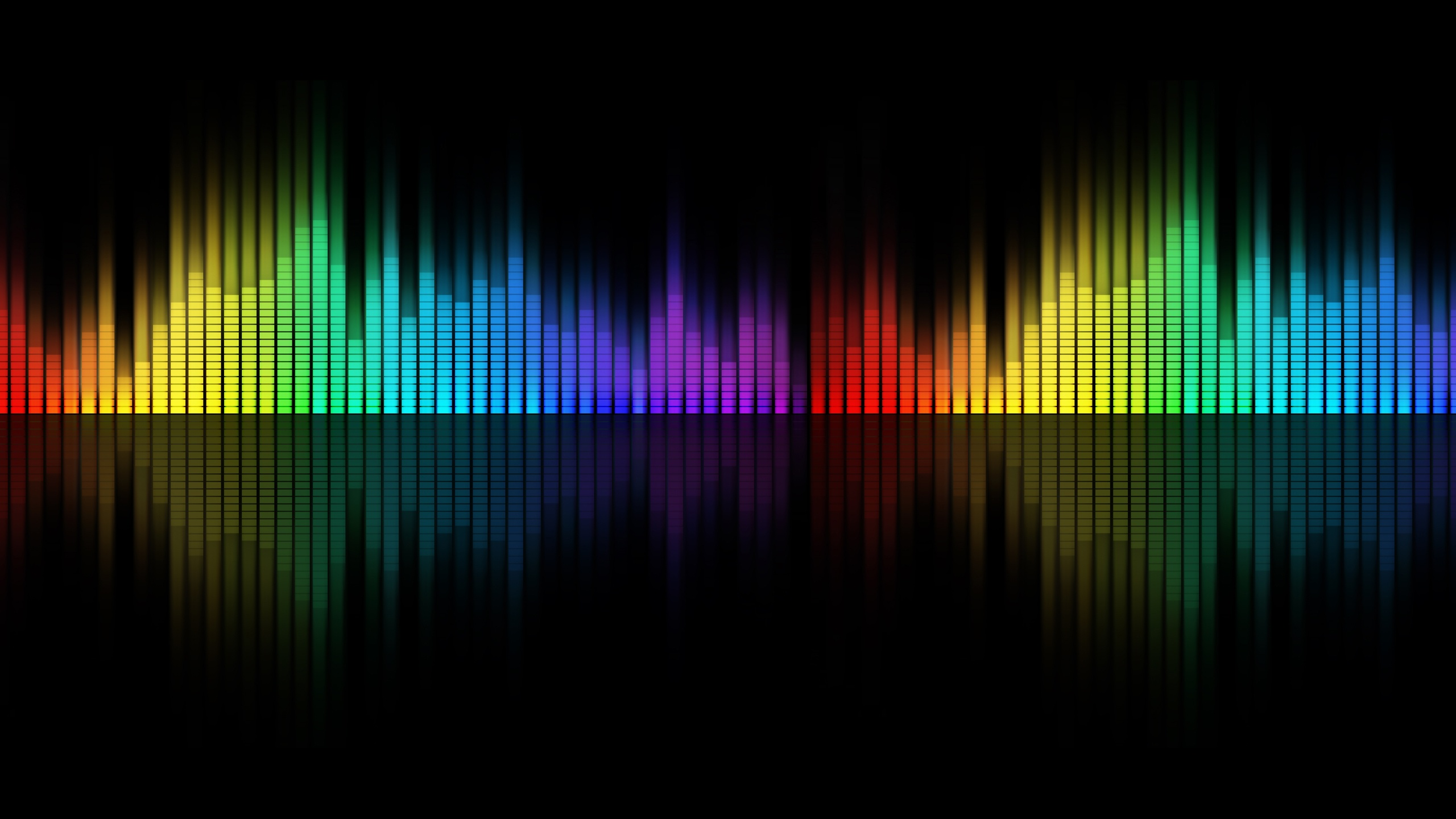 Rainbow music visualizer (no placeholder version (up to 10 min.
