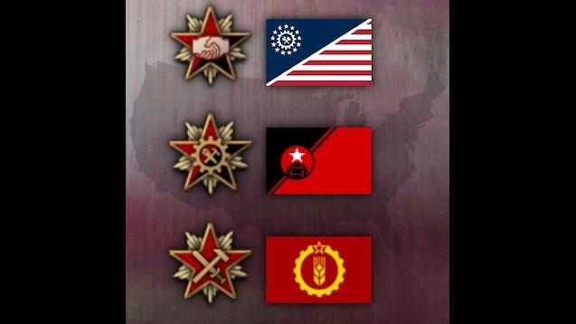 Steam Workshop :: Kaiserreich: Better CSA flags