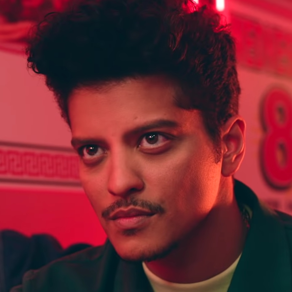Image result for bruno mars mustache please me