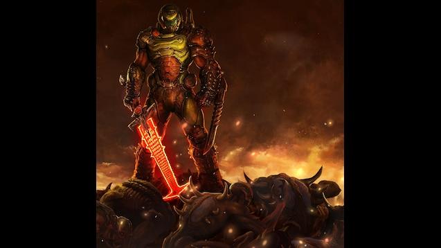 Steam Workshop Doom Eternal Doom Slayer Wallpaper
