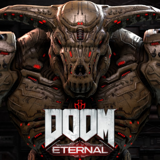 doom eternal icon of sin wallpaper