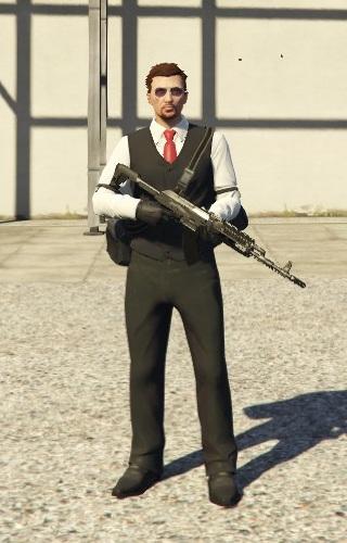 Костюмы из Counter-Strike: Global Offensive в GTA 5 ONLINE