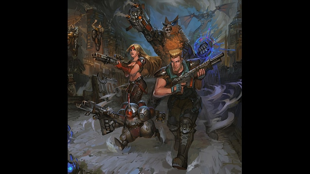 Steam Workshop :: Contra - Hard Corps