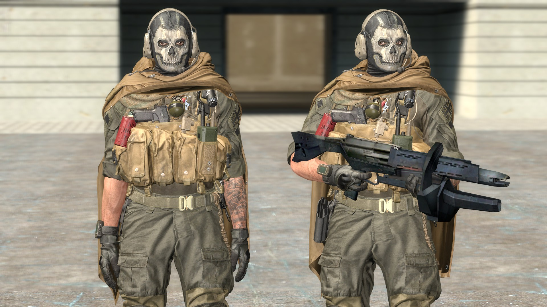 Steam Workshop Cod Modern Warfare Ghost Playermodel Npc