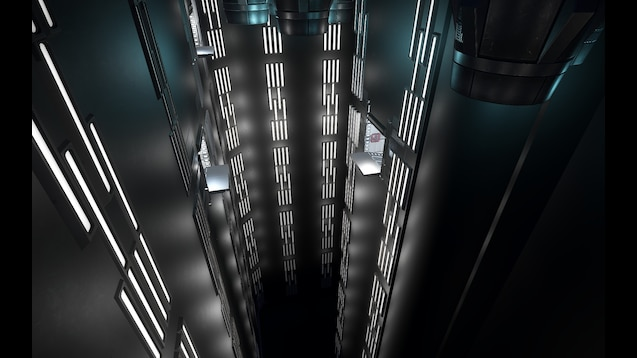 Steam Workshop Death Star Interior Pack Chasm Outer Wall