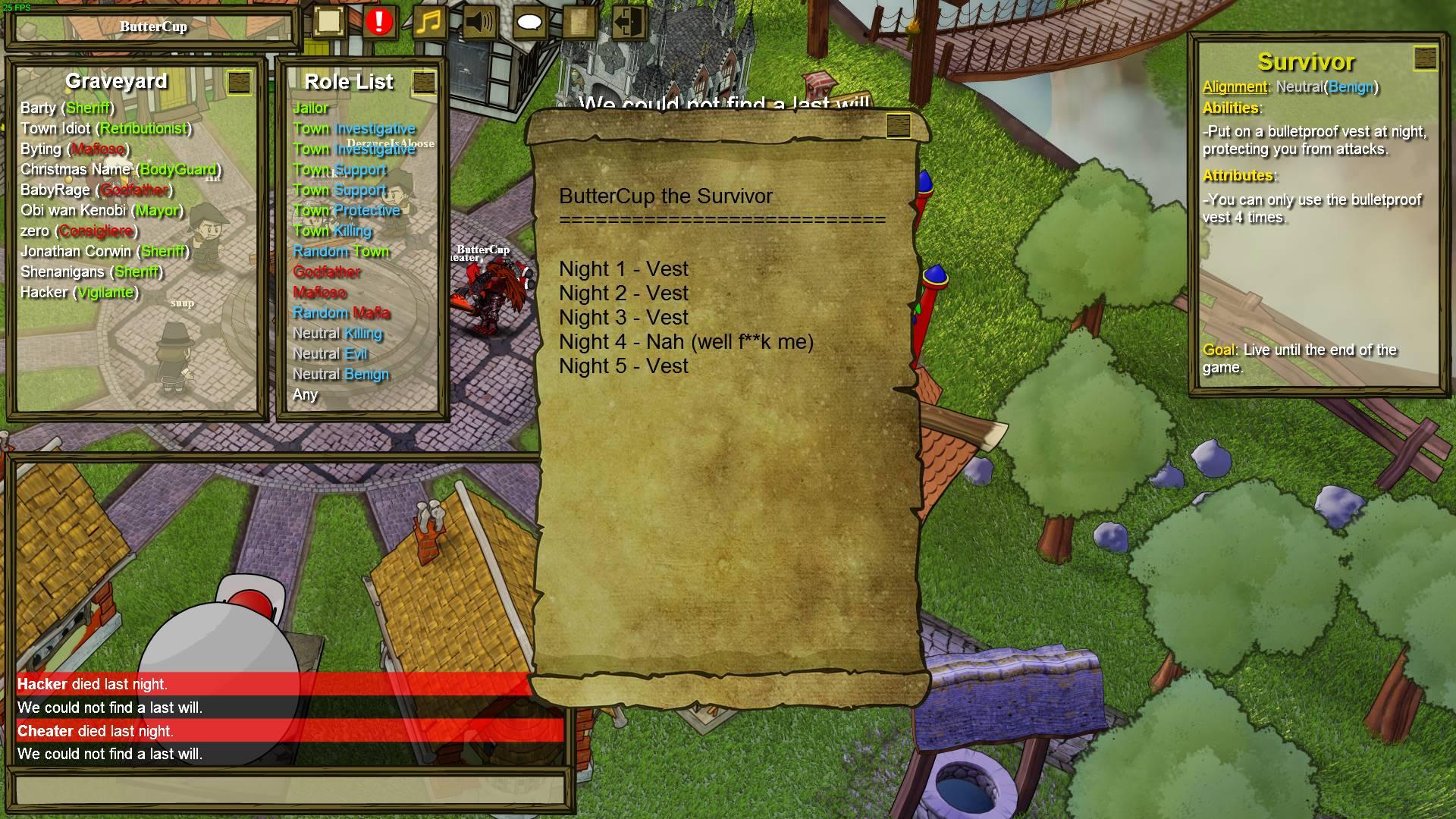 Steam közösség :: Útmutató :: Will Guide for Each Specific Town Role