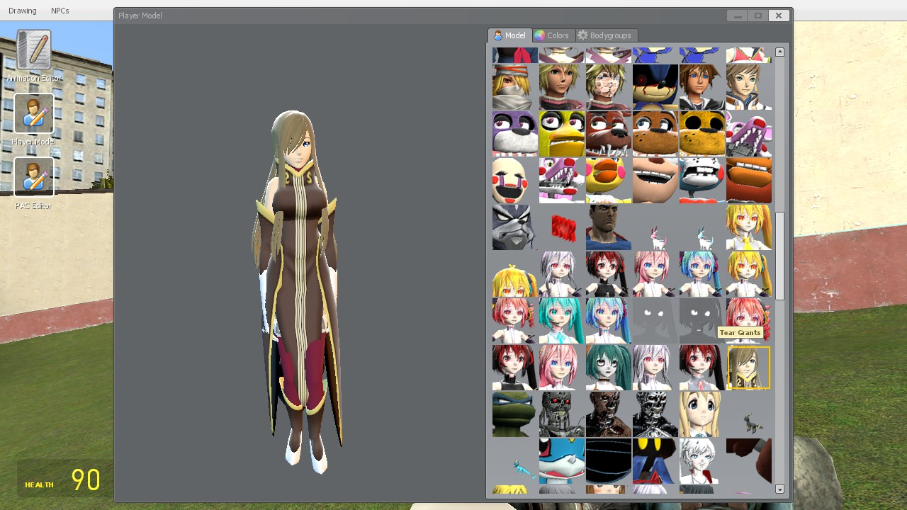 Steam Workshop :: Tear Grants Playermodel (Tales of the Abyss)