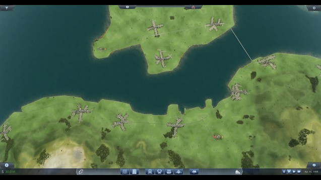 香港 HongKong Real Size Map - Skymods