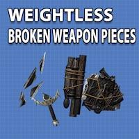 WEIGHTLESS BROKEN WEAPON PIECES画像