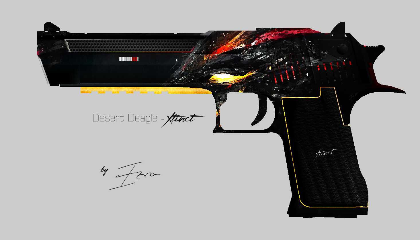 5 best desert eagle skins black extinction 1
