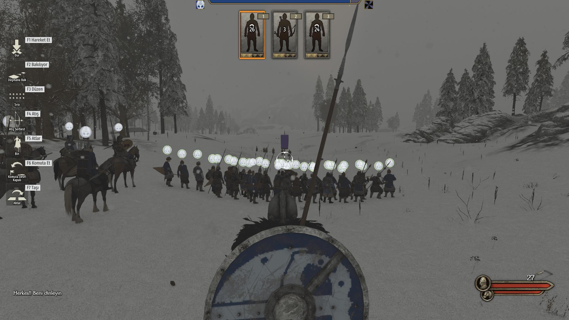Bannerlord savaşı yönetmek