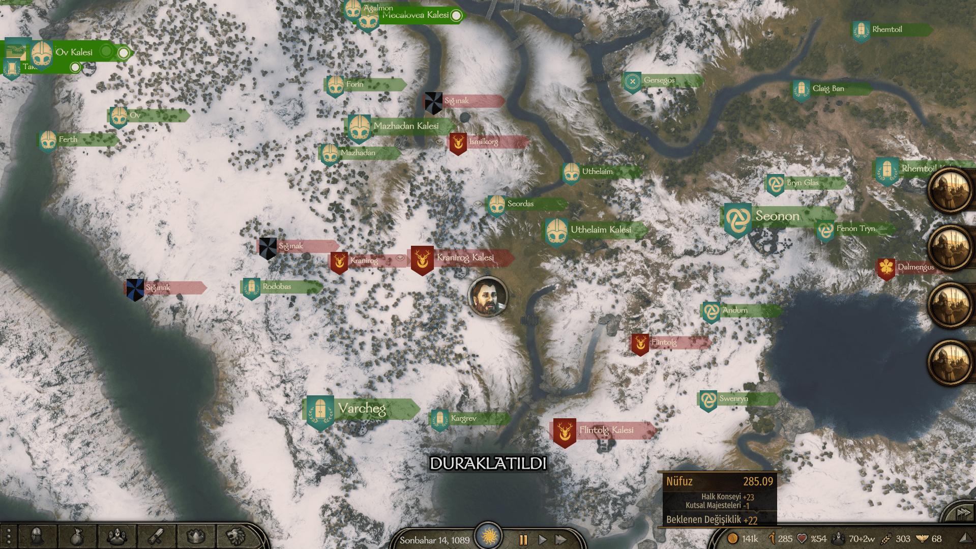 Bannerlord nüfuz arttırma