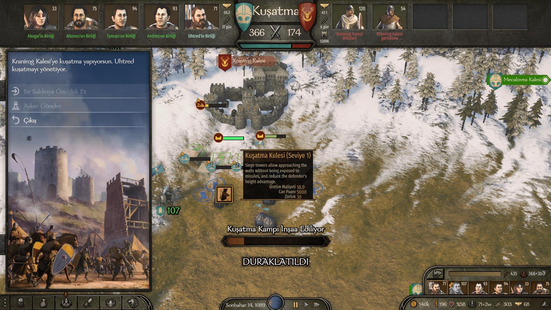 Bannerlord kuşatma