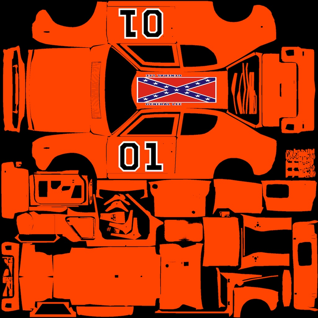 Steam Community By Request The General Lee Template