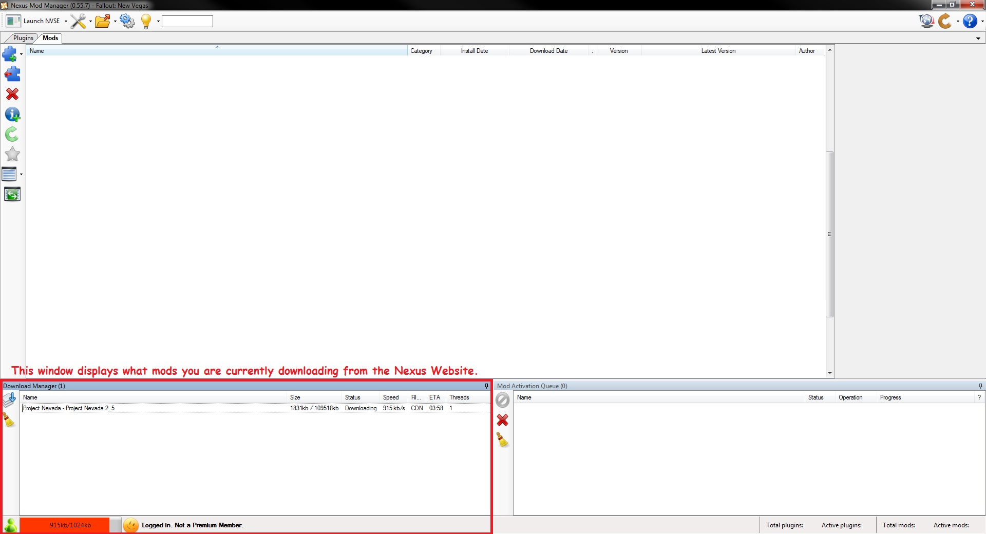 nexus mod manager plugins not working
