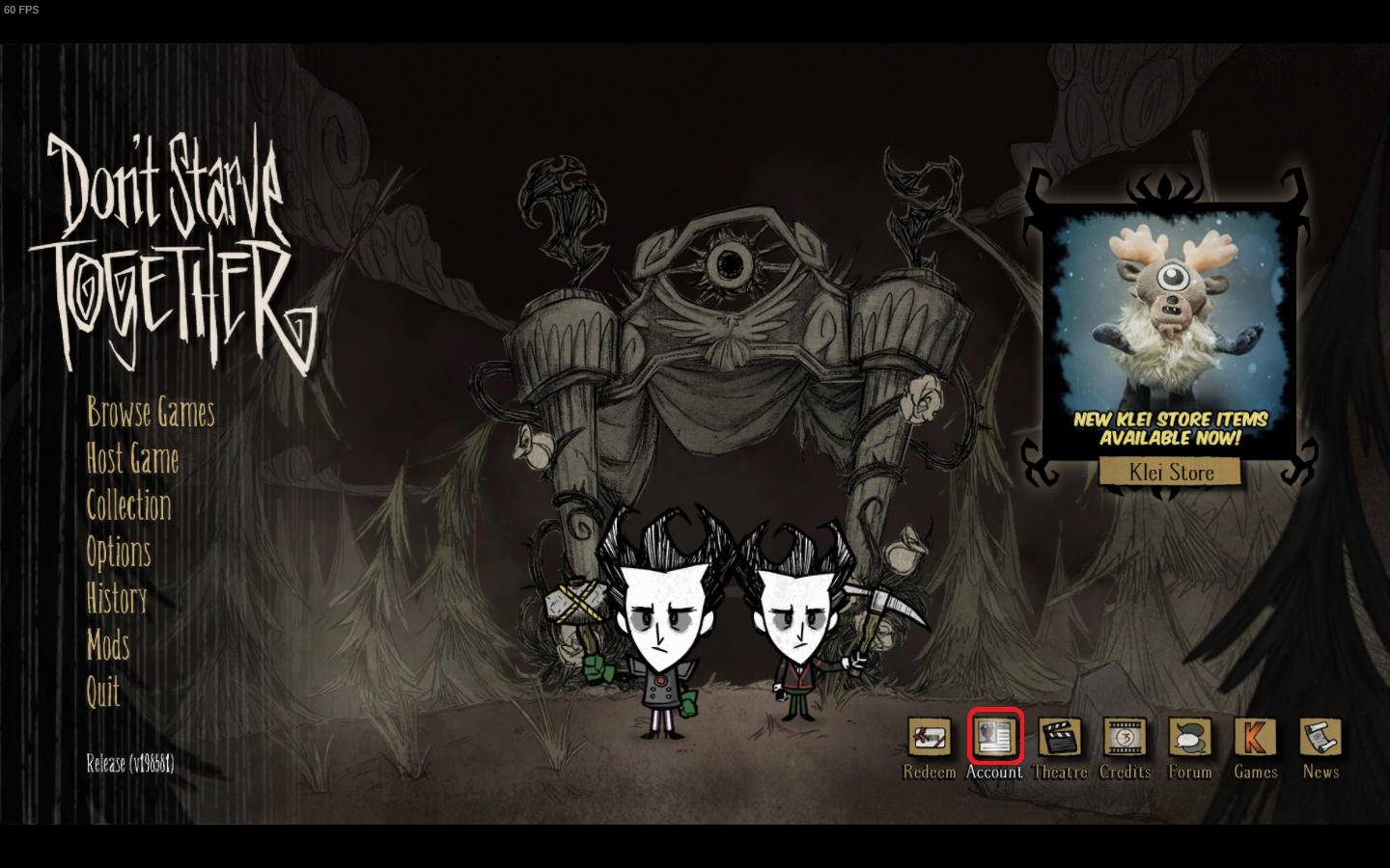 Don't starve together dedicated server lan d