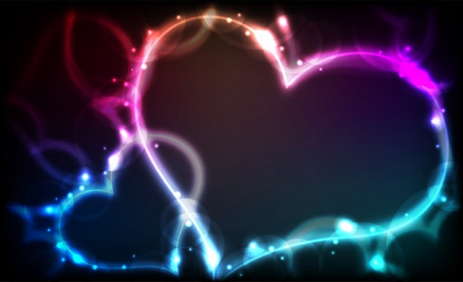 сердечки на картинки эффекты создаются