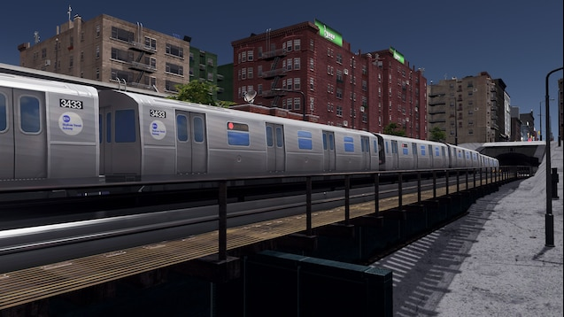 Steam Workshop :: R160 New York City Subway for Metro