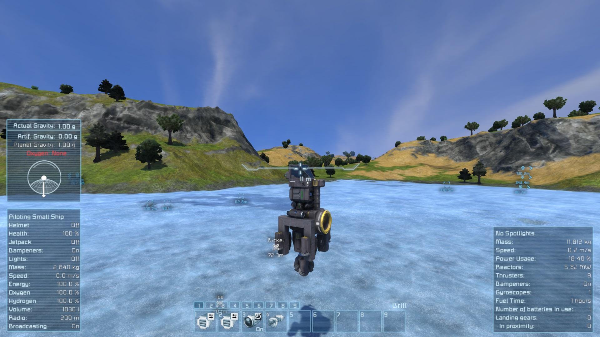 Steam Community Guide Basic Vehicles Planetary Mining Rig