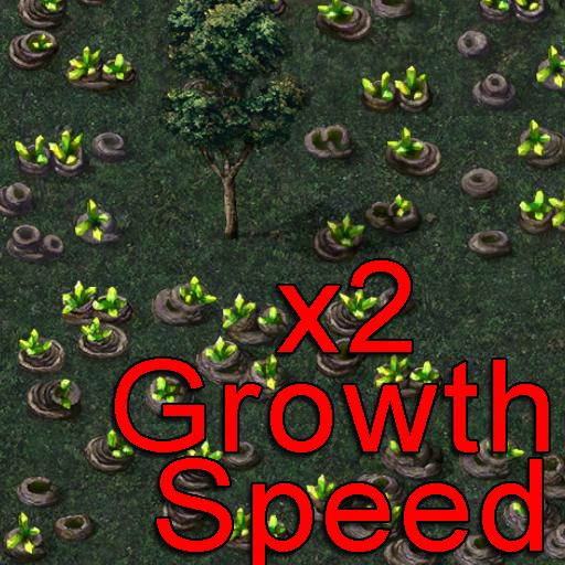 (Cheat) 2x Tiberium Growth Speed