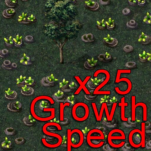 (Cheat) 25x Tiberium Growth Speed