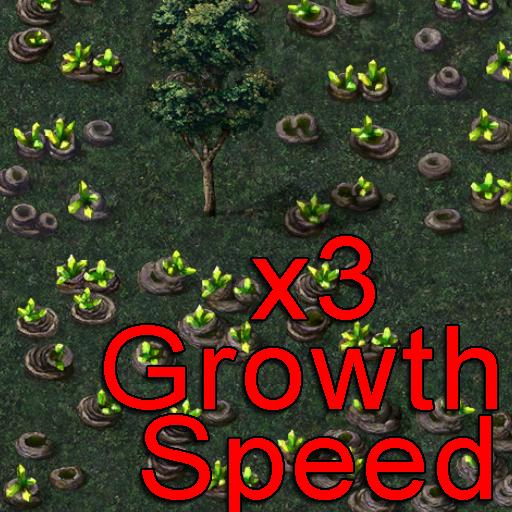 (Cheat) 3x Tiberium Growth Speed