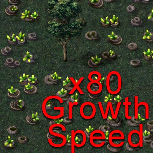 (Cheat) 80x Tiberium Growth Speed