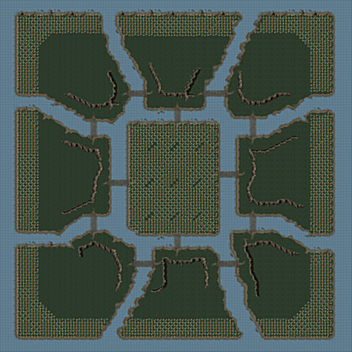 Central Island (Mega - 8 Players)
