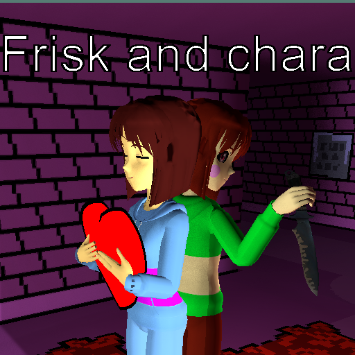 Anime frisk and chara