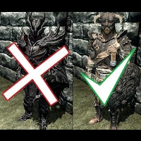 Daedric Armour to Banded Iron画像