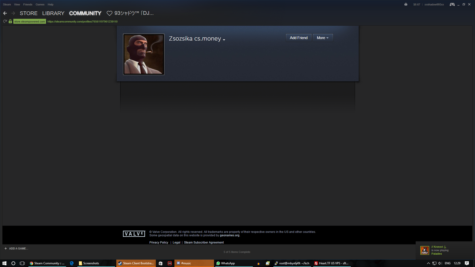 """Vac Ban Steam Profile Troll: Steam Community :: Guide :: How To Avoid The """"Negotiating"""