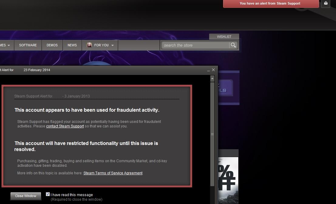 Vac Ban Steam Profile Troll: Steam Community :: Guide :: Avoiding The Item