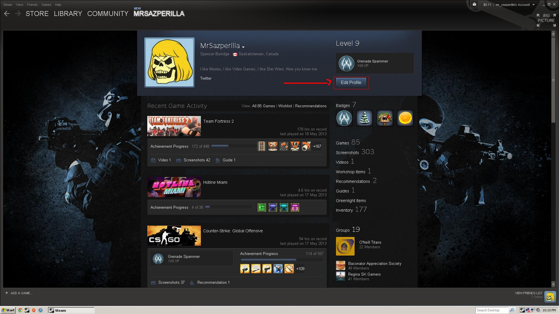 Steam Community :: Guide :: How to change Steam profile picture